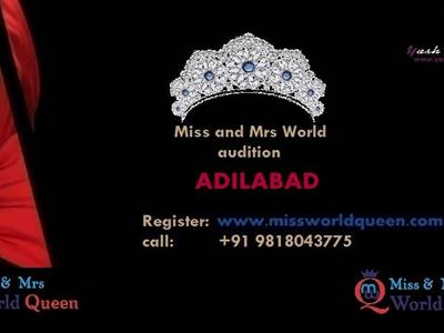 Miss+and+Mrs+Adilabad+Telangana+India+World+Queen+and+Mr+India image
